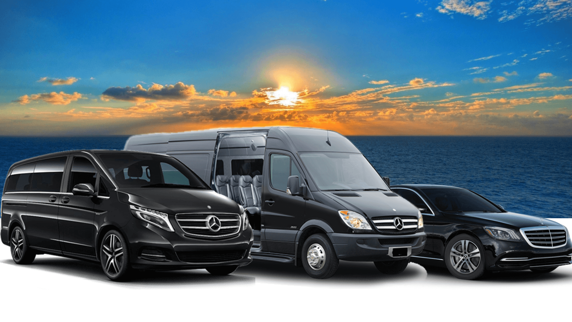 reserve one of this limousine, van or minibus by mercedes for basel river cruise transfers